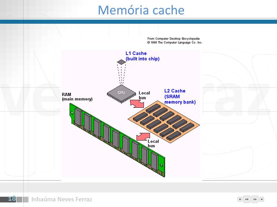18 Memória cache