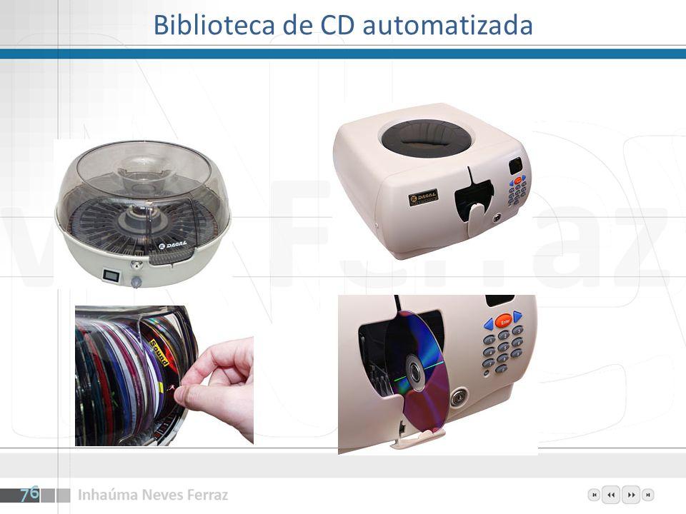 Biblioteca de CD automatizada 76