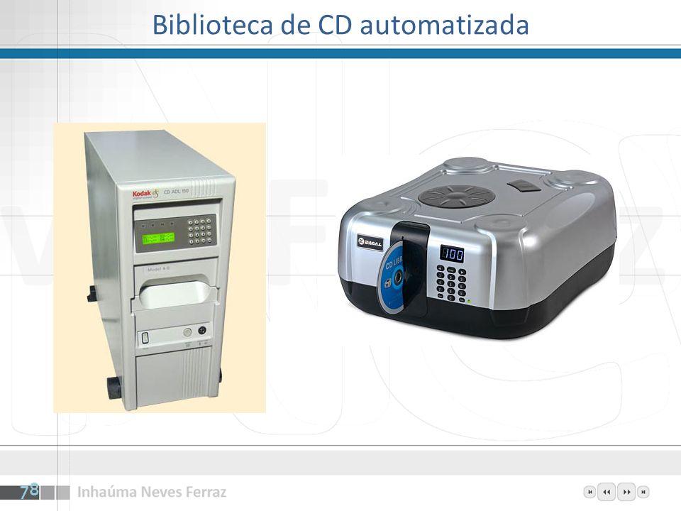 Biblioteca de CD automatizada 78