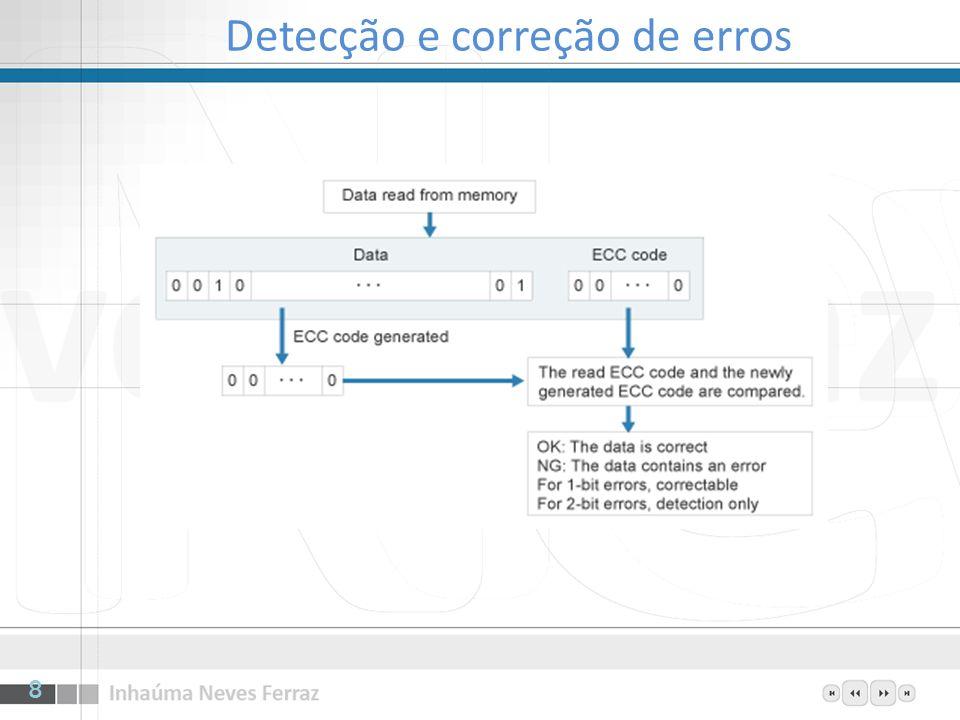 Como manipular gravações write through, quando uma palavra é escrita no cache, ela é imediatamente escrita de volta à memória transferência das posições alteradas do cache para a memória principal a intervalos constantes garantindo que o tempo de inconsistência entre as duas memórias seja tão pequeno quanto for desejado pelo projetista copy back, ou memória suja, não atualiza a memória quando o cache é alterado –A memória somente é atualizada quando a entrada é expurgada do cache para permitir que outra entrada tome conta do slot –Quando copy back é usado, um bit é necessário em cada entrada do cache, dizendo se a entrada foi modificada desde que foi carregada para o cache 19
