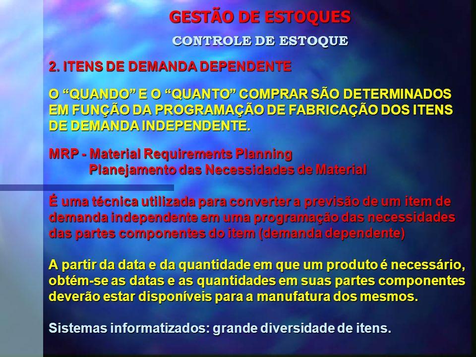 GESTÃO DE ESTOQUES 2.