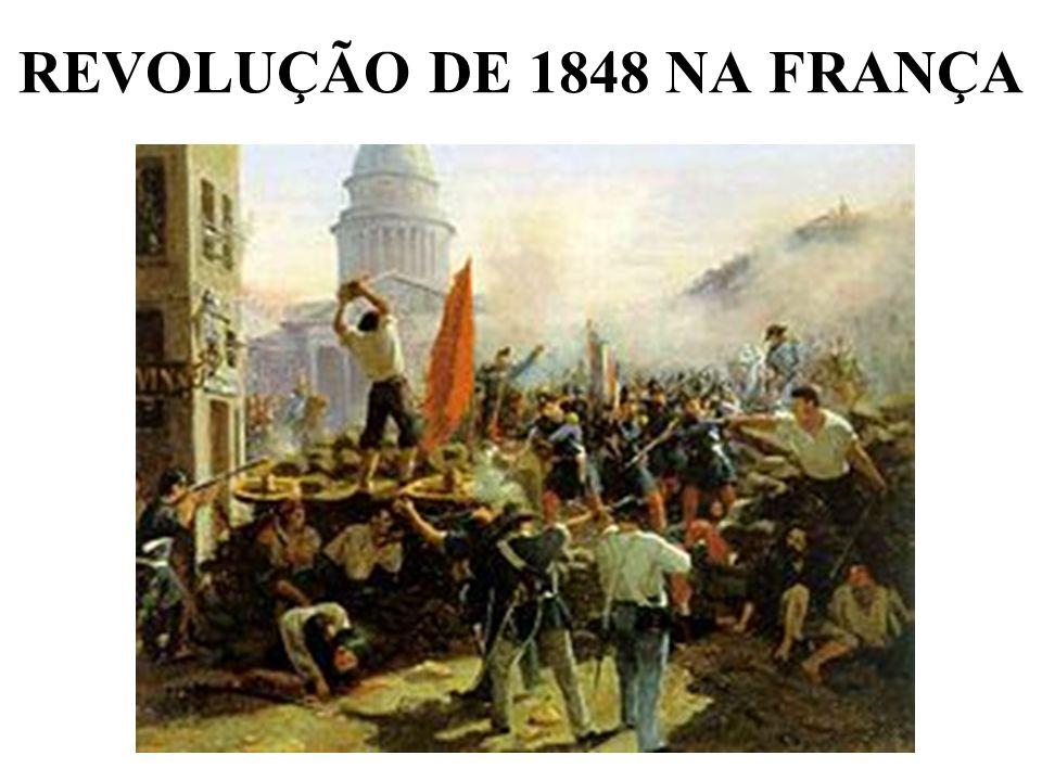 REVOLUÇÃO DE 1848 NA FRANÇA