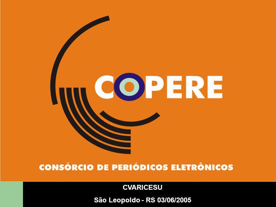 CVARICESU São Leopoldo - RS 03/06/2005