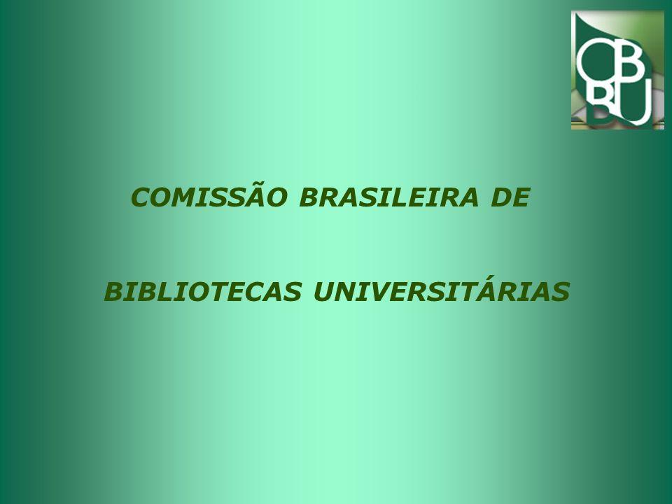 Plano de ação Atualizar permanentemente a página web da CBBU; Oferecer apoio institucional a eventos que promovam a educação continuada de bibliotecários das Bus (SNBU, CBBD)