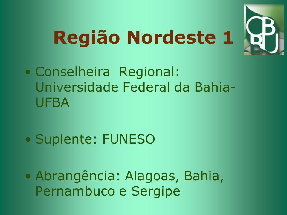 Região Nordeste II Conselheira Regional - Universidade Federal do Rio Grande do Norte- UFRN.
