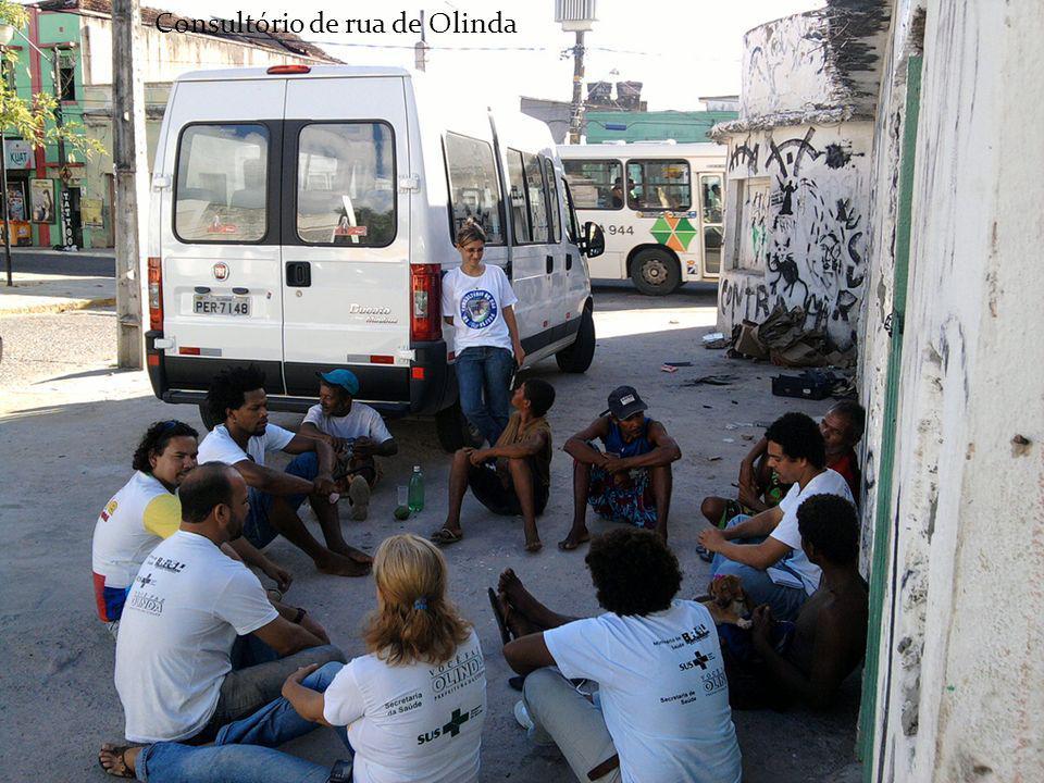 Consultório de rua de Olinda