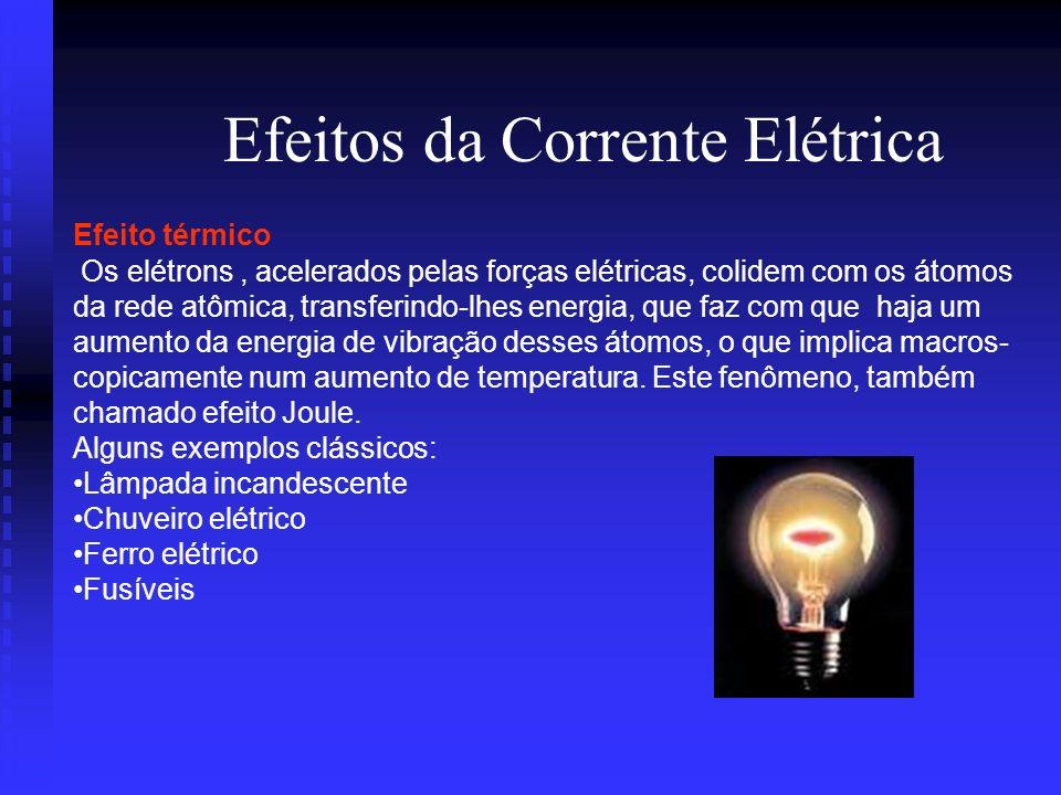 Corrente Elétrica Isolante elétrico é todo meio que oferece boa resistência a movimentação de portadores de cargas elétricas no seu interior Isolante