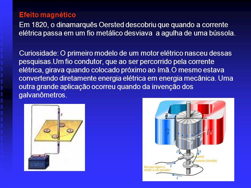 Efeitos fisiológicos A corrente elétrica tem ação, de modo geral, sobre todos os tecidos vivos, porque os tecidos são formados de substâncias coloidai