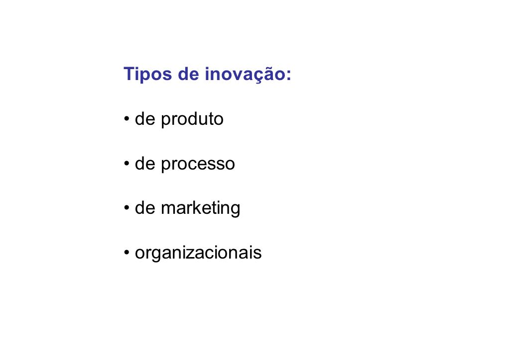 Características do Sistema Tecnológico da 2a.