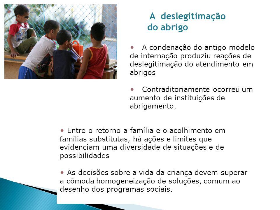 Um dos caminhos para assegurar cuidado e proteção à infância é o do estimulo às redes de proteção espontânea.