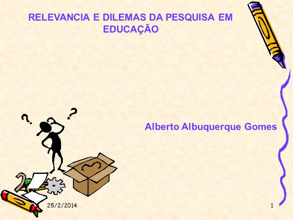 1.Primeira grande questão: preocupação de alguns autores com um balanço histórico a)Gouveia (1971, 1976), que examina a pesquisa educacional desde seu início como atividade regular, com a criação do Inep em 1938, até a década de 70; b)Gatti (1983), que estende a análise até 1982; d) Avaliação e perspectivas na área de educação (Associação Nacional de Pós-Graduação e Pesquisa em Educação – ANPEd, 1993) - 1982 a 1991.