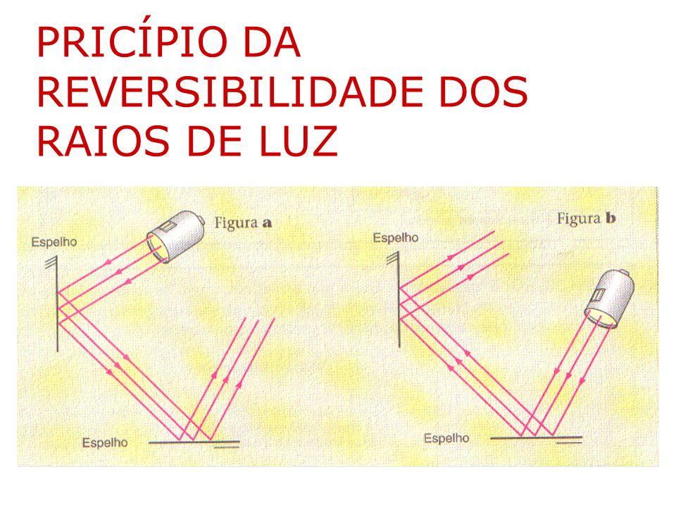 PRICÍPIO DA REVERSIBILIDADE DOS RAIOS DE LUZ