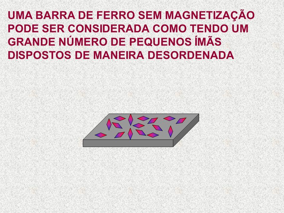 O ESPAÇO OCUPADO PELAS LINHAS DE FORÇA É CHAMADO CAMPO MAGNÉTICO