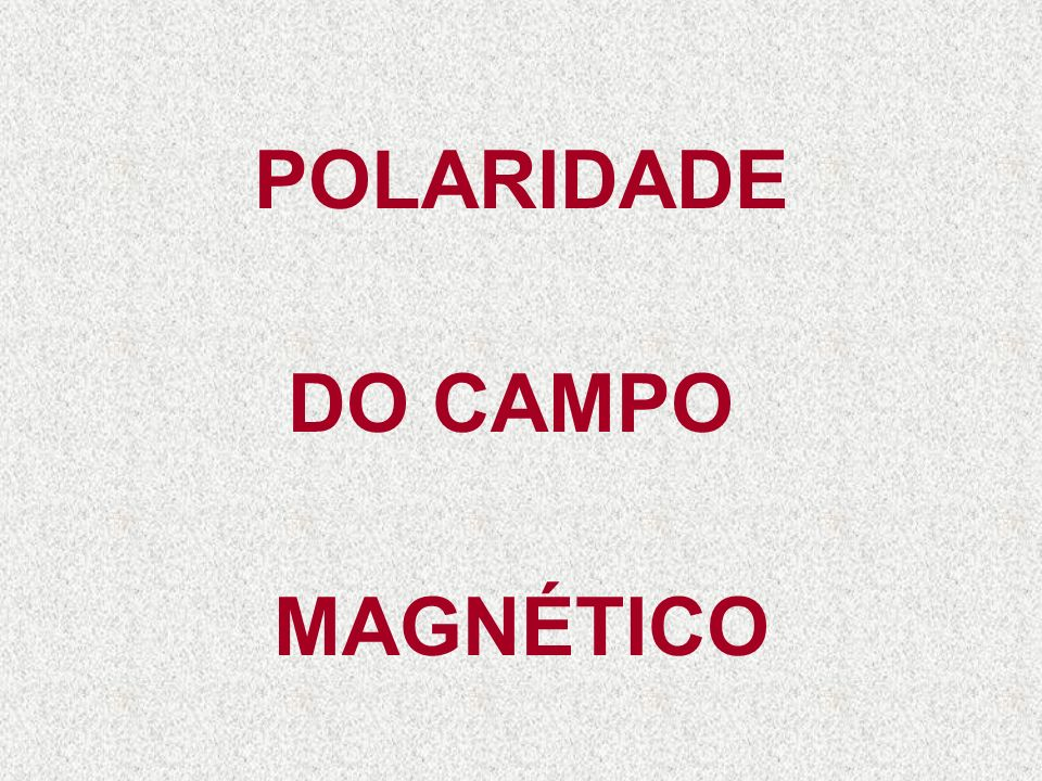 AUMENTA O CAMPO MAGNÉTICO 1.200 Espiras