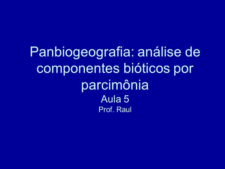 Biogeografia cladística.