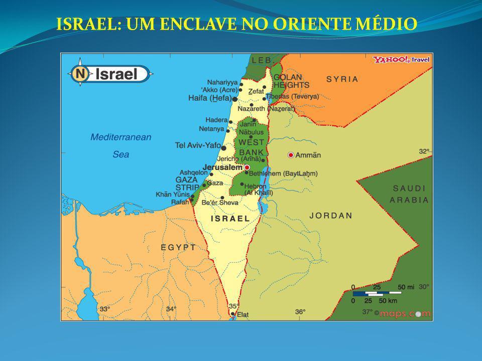 ISRAEL: UM ENCLAVE NO ORIENTE MÉDIO
