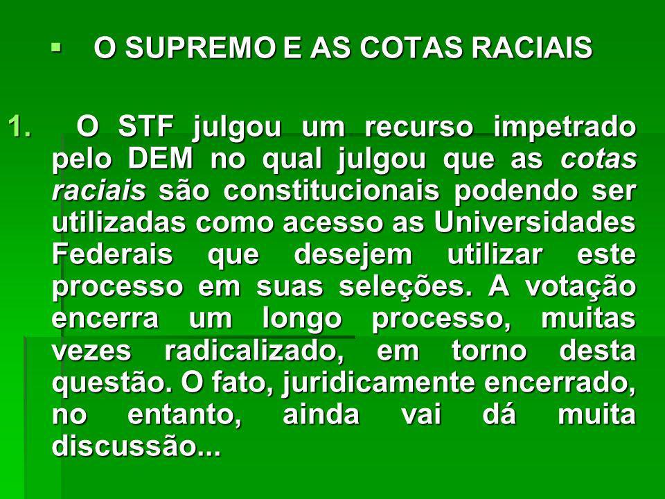 OS PARTIDOS POLÍTICOS BRASILEIROS OS PARTIDOS POLÍTICOS BRASILEIROS 1.