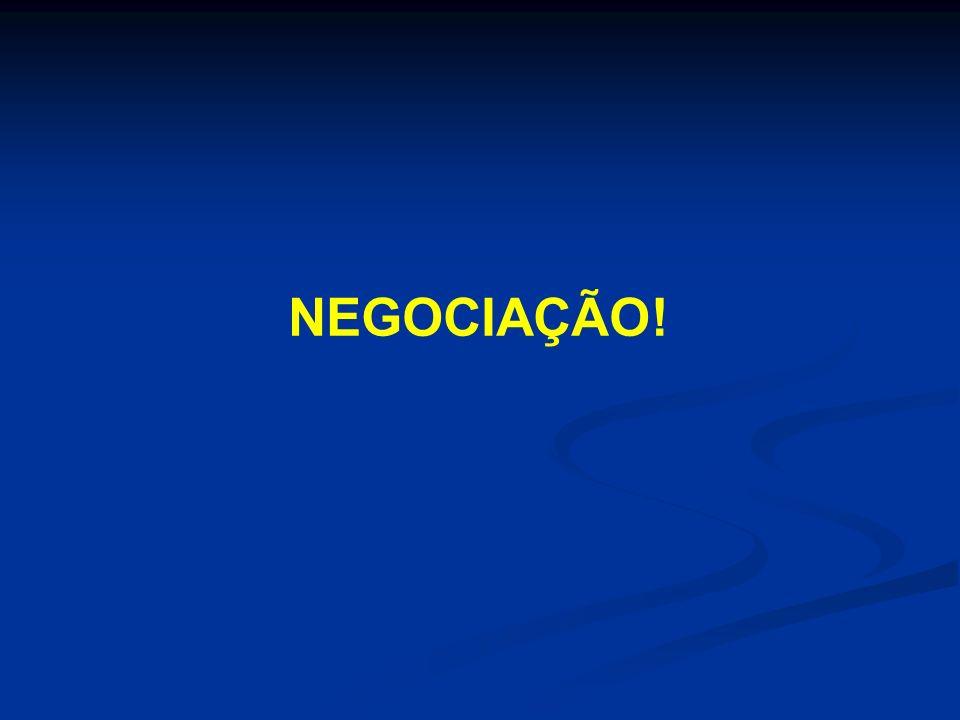 A meta do negociador é chegar a um acordo.- Não existe um vencedor.