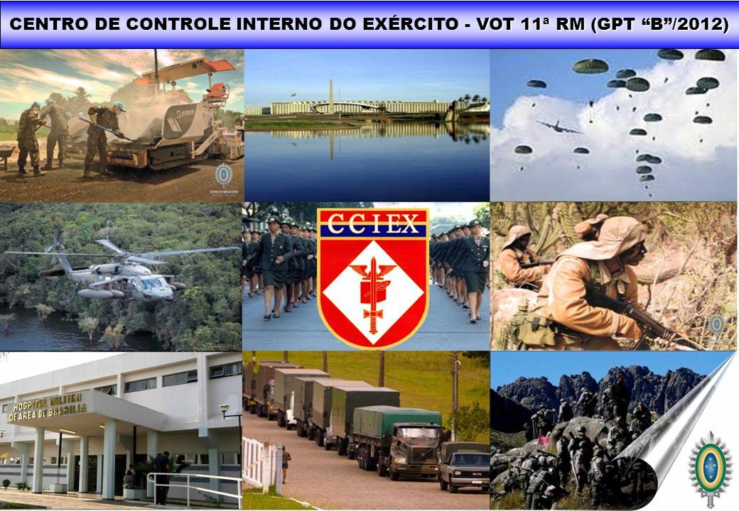 VOT 11ª RM (GPT B/2012) CENTRO DE CONTROLE INTERNO DO EXÉRCITO - VOT 11ª RM (GPT B/2012)