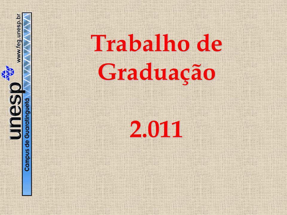 Trabalho de Graduação 2.011