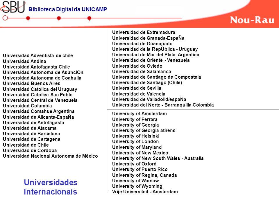 Universidad Adventista de chile Universidad Andina Universidad Antofagasta Chile Universidad Autonoma de AsunciÓn Universidad Autonoma de Coahuila Uni