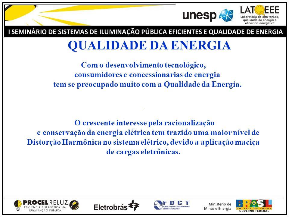 Com o desenvolvimento tecnológico, consumidores e concessionárias de energia tem se preocupado muito com a Qualidade da Energia. O crescente interesse