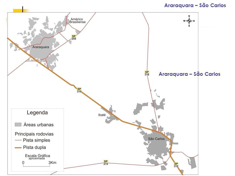 Espaços livres em megacidades Araraquara – São Carlos