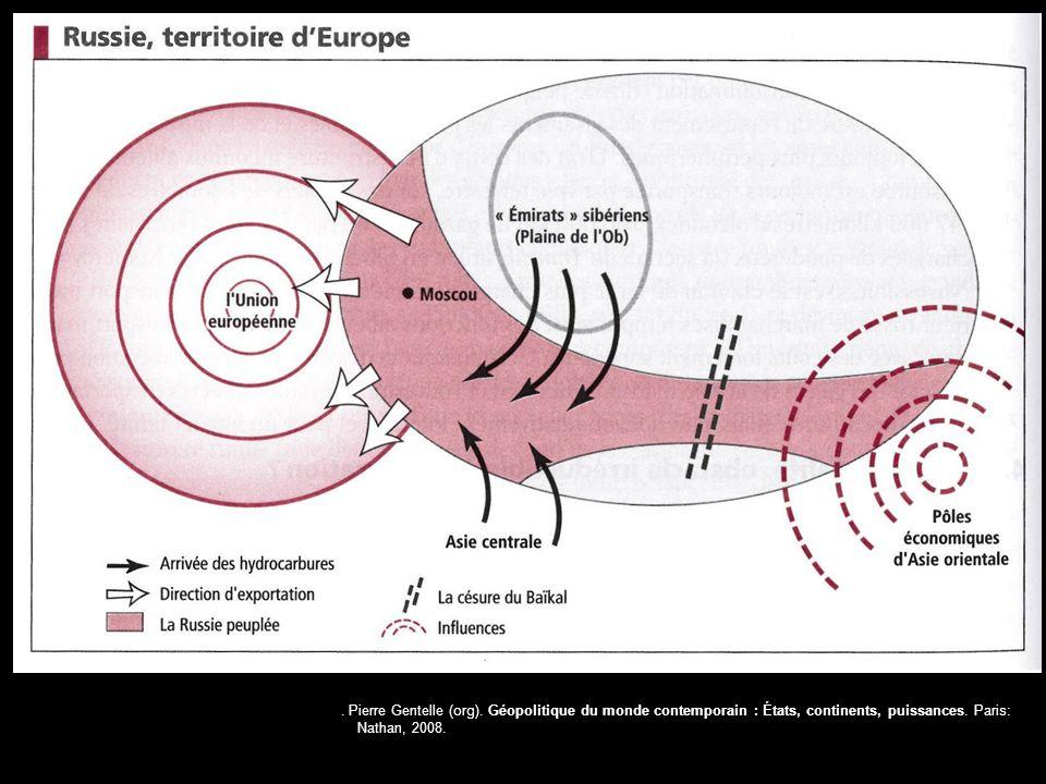 Pierre Gentelle (org).Géopolitique du monde contemporain : États, continents, puissances.
