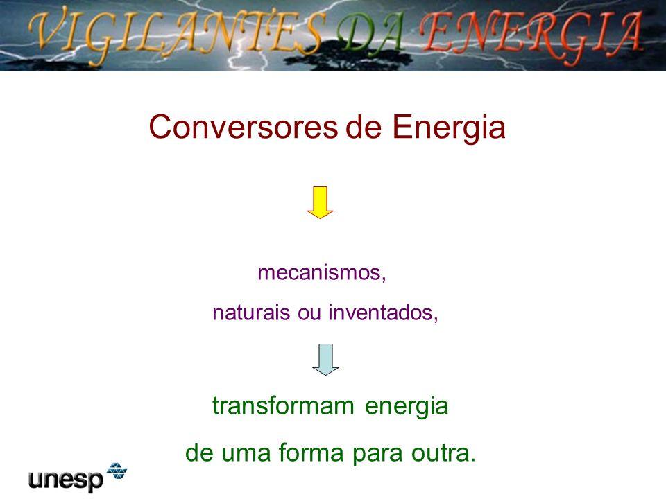 Potência: capacidade de transformar energia em outra forma de energia em função do tempo.