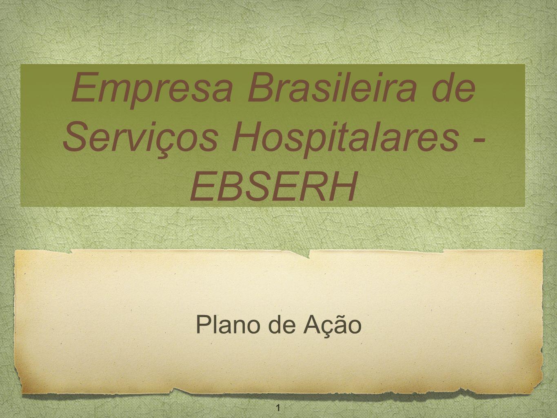 Empresa Brasileira de Serviços Hospitalares - EBSERH Plano de Ação 1