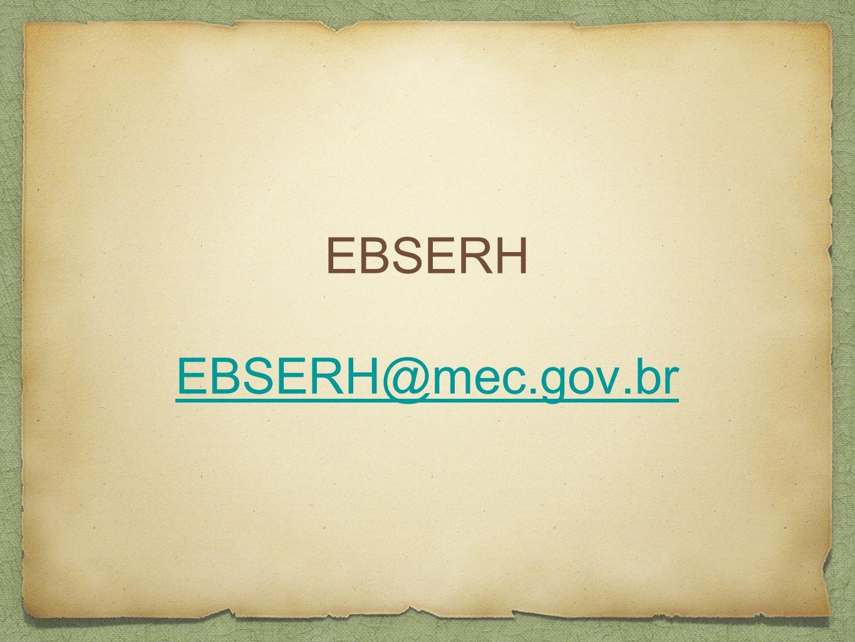 EBSERH EBSERH@mec.gov.br EBSERH@mec.gov.br
