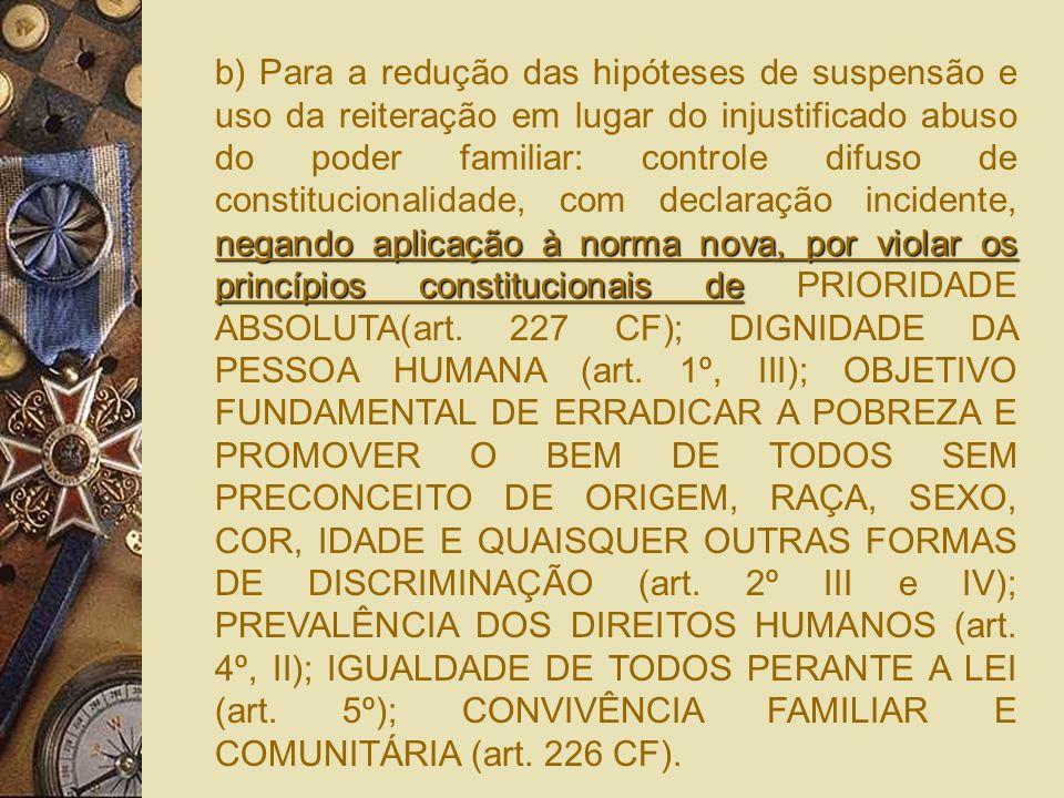 Para os três casos anteriores, frente as regras da LICC (Lei posterior em colisão com lei anterior não revogada expressamente) e princípio da hierarqu