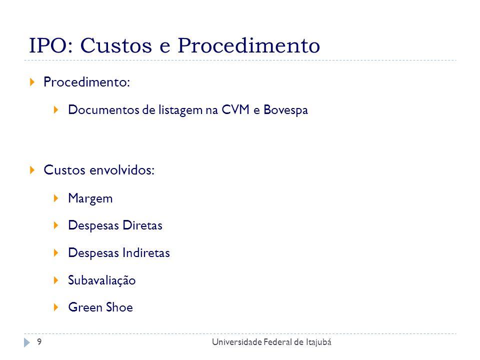 Universidade Federal de Itajubá20 Referencias Bibliograficas KUNZ, R.