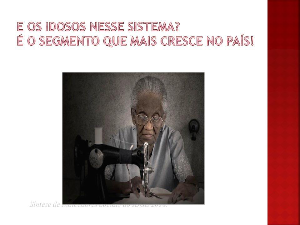 Síntese de Indicadores Sociais do IBGE 2010. *Síntese de Indicadores Sociais do IBGE 2010.