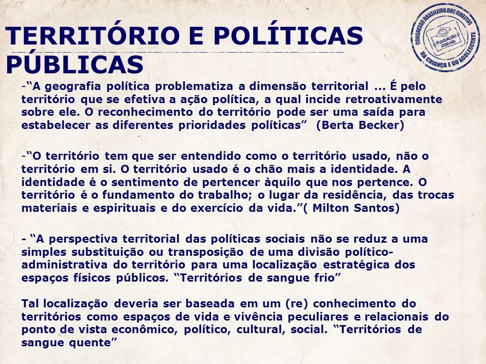 -A geografia política problematiza a dimensão territorial...