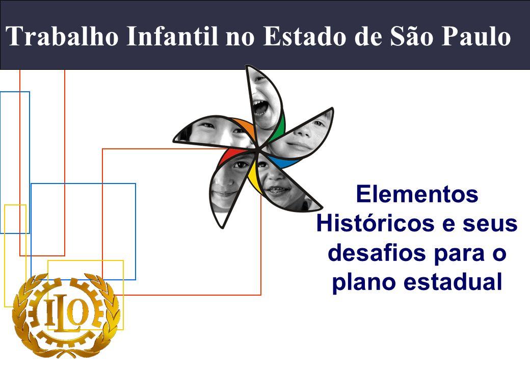 Trabalho Infantil no Estado de São Paulo Elementos Históricos e seus desafios para o plano estadual