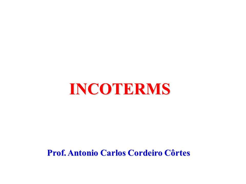 Centro de Pesquisa em Logística Integrada à Controladoria e NegóciosLogicon Nome do professor / apresentador INCOTERMS Prof. Antonio Carlos Cordeiro C