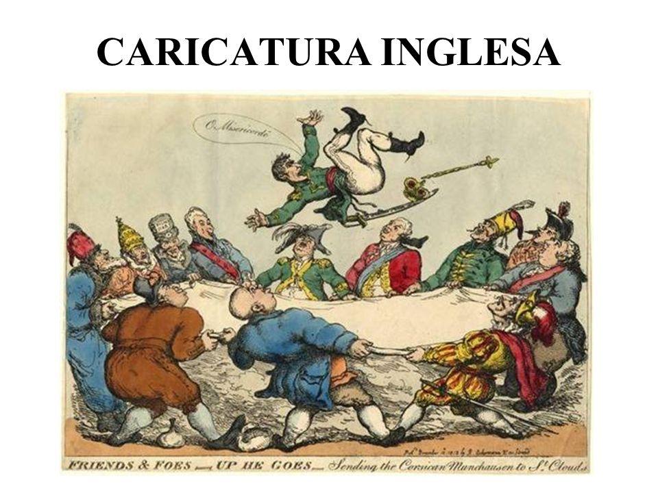CARICATURA INGLESA