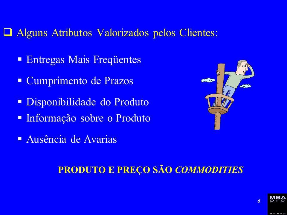 7 Composição do Serviço ao Cliente –Dimensões&Variáveis 1.