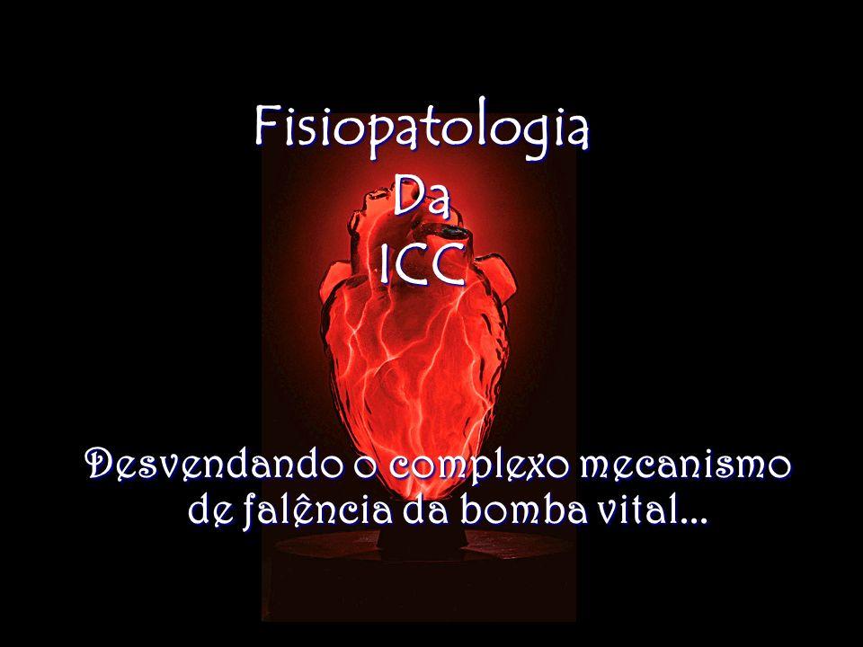 FisiopatologiaDaICC Desvendando o complexo mecanismo de falência da bomba vital... Desvendando o complexo mecanismo de falência da bomba vital...