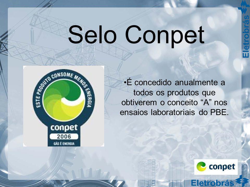 Selo Conpet É concedido anualmente a todos os produtos que obtiverem o conceito A nos ensaios laboratoriais do PBE.