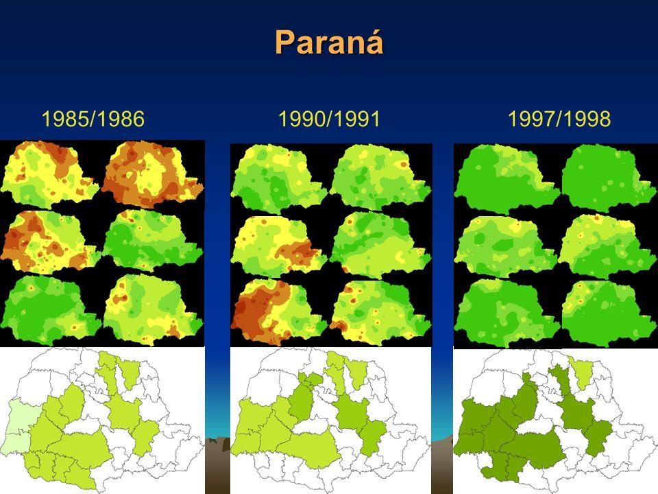 Paraná 1997/19981985/19861990/1991