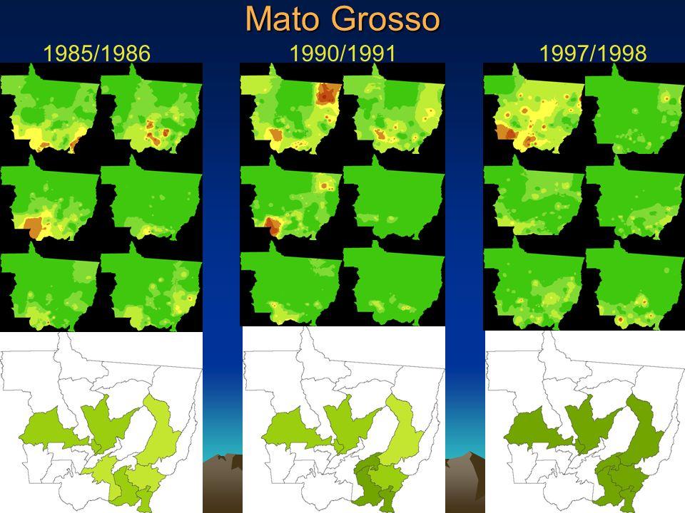 Mato Grosso 1997/19981985/19861990/1991
