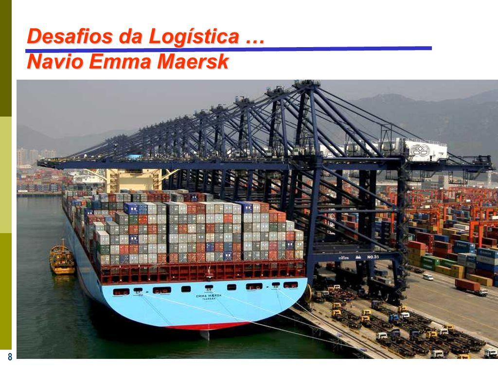 8 Desafios da Logística … Navio Emma Maersk
