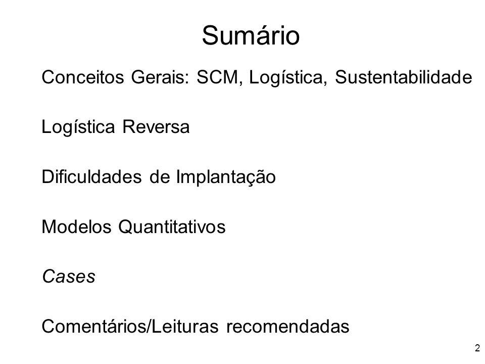 Panorama Logística Verde: Iniciativas de sustentabilidade ambiental das empresas no Brasil 2011 .