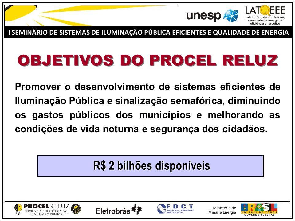 ELETROBRÁS ELETROBRÁSPROCEL CONCESSIONÁRIA PREFEITURA ELABORAÇÃO DO PROJETO ILUM.