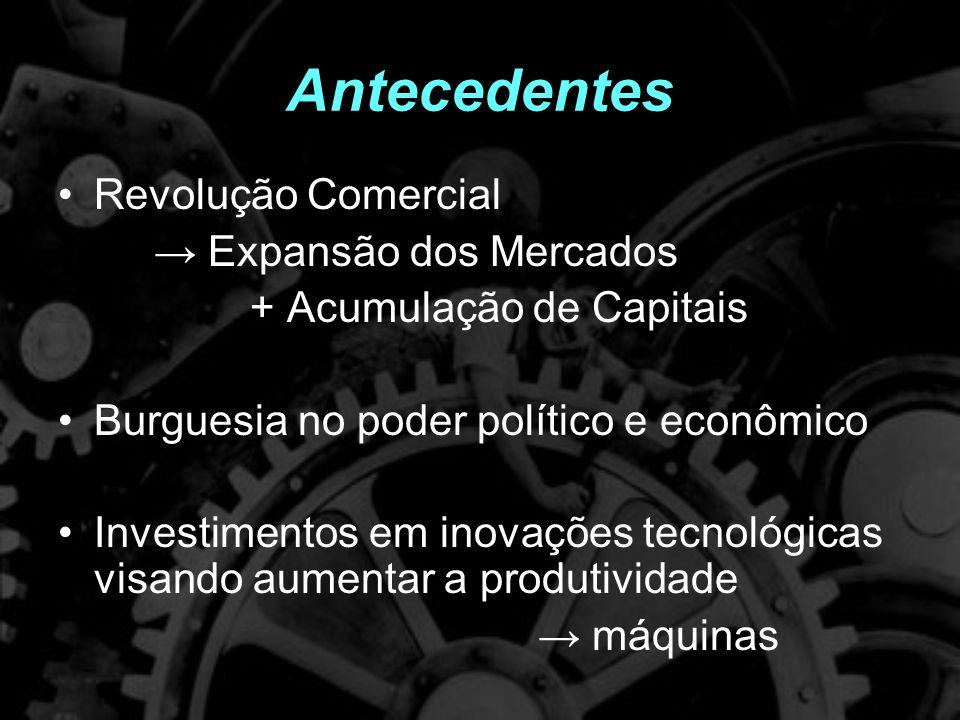 O que foi Processo de transformações econômicas e sociais, caracterizadas pela aceleração do processo produtivo e pela consolidação da produção capitalista.
