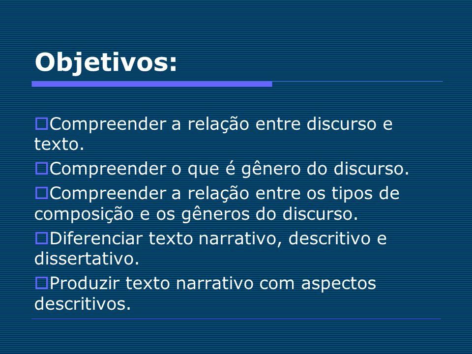 DISSERTAÇÃO Expõe ideias, debate um tema com ponto de vista e argumentação.