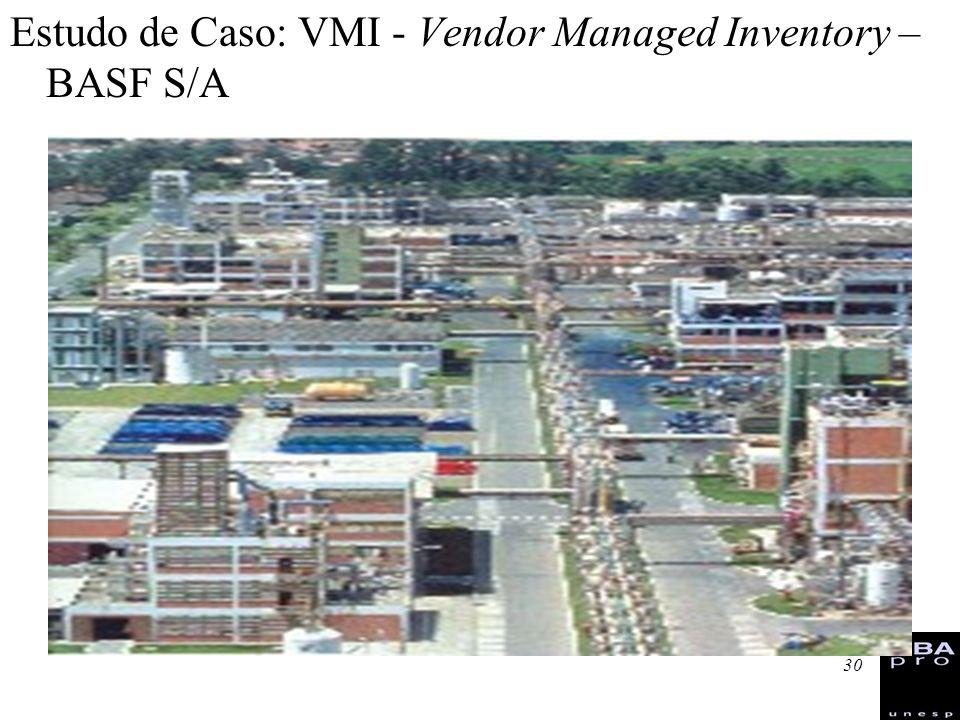 30 Estudo de Caso: VMI - Vendor Managed Inventory – BASF S/A