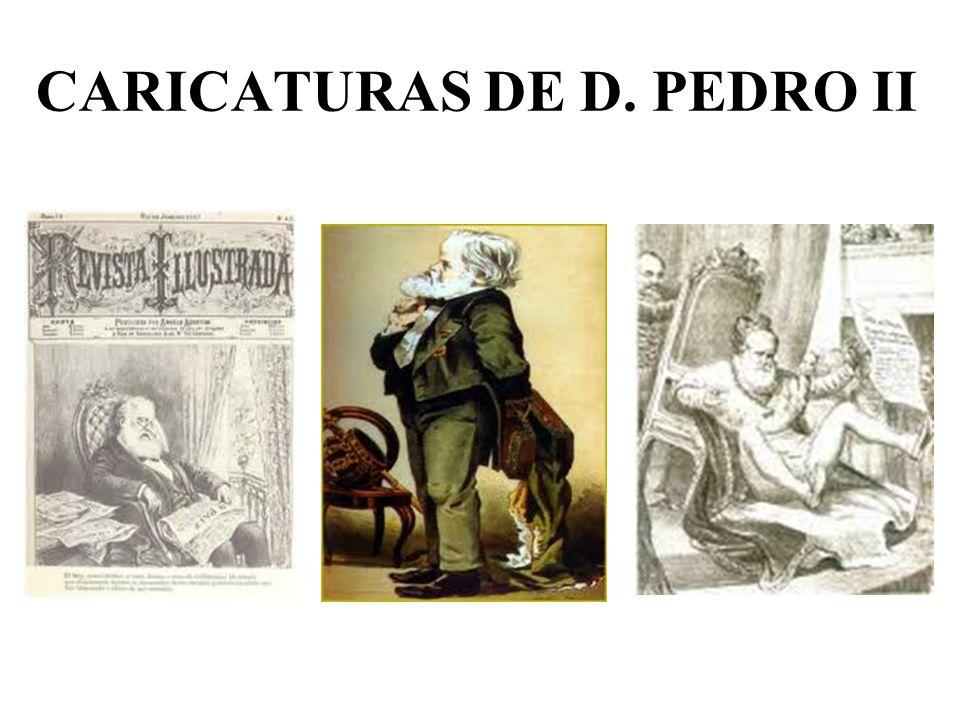 CARICATURAS DE D. PEDRO II